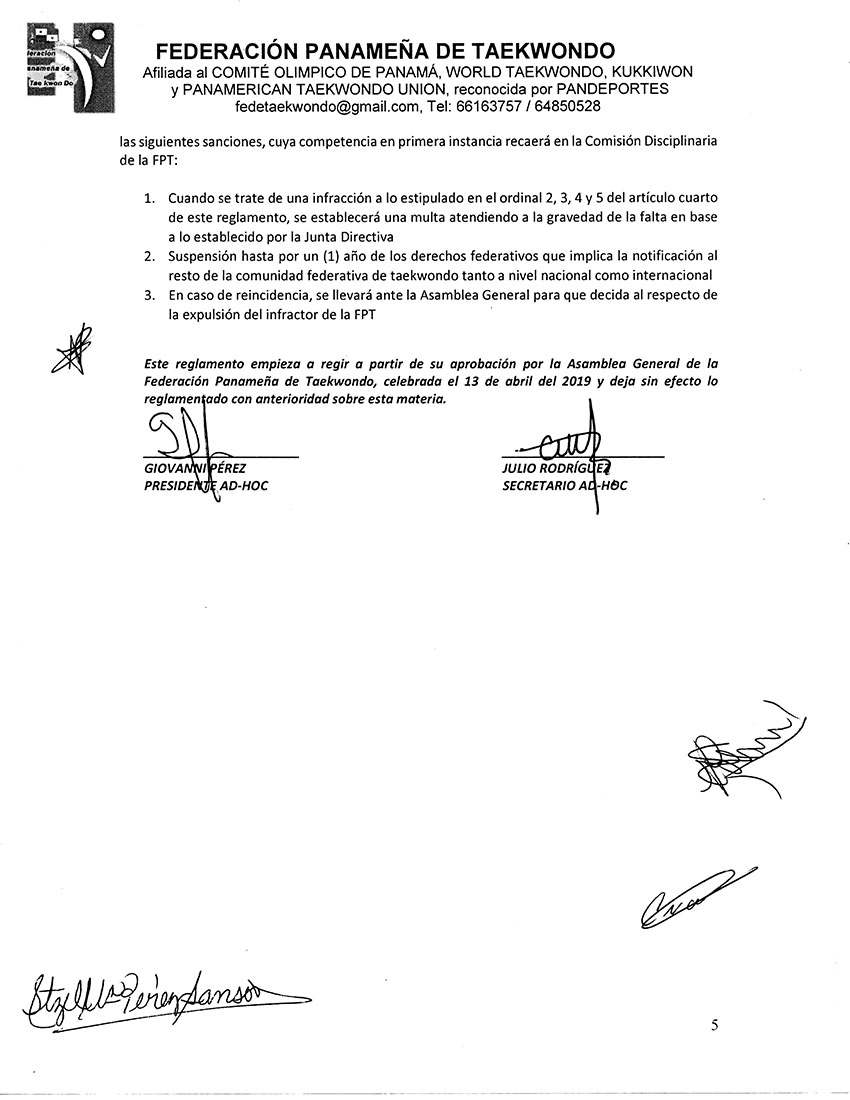 REGLAMENTO PARA EL OTORGAMIENTO DE AVALES PARA COMPETENCIAS_Page_5